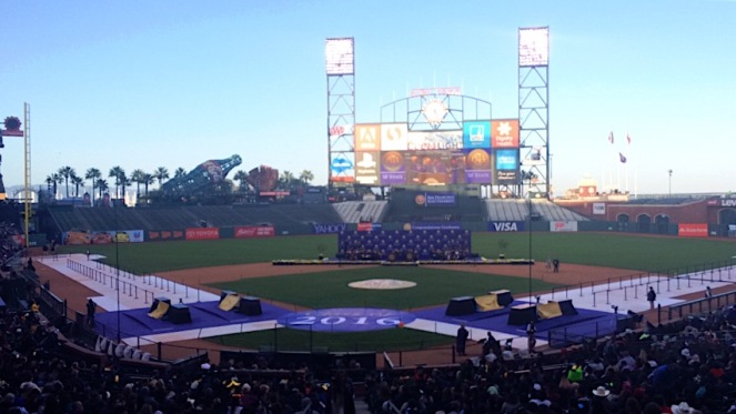 AT&T Park featuring Class of 2016