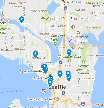 Seattle Map Eastlake