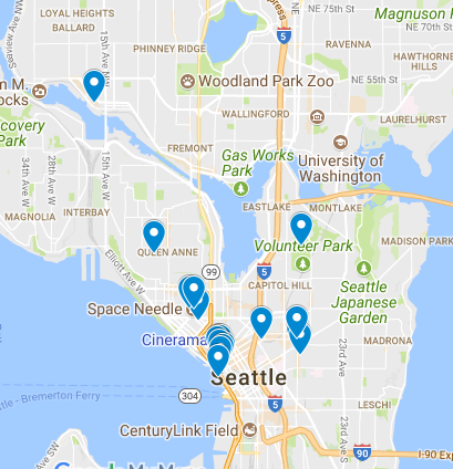 Seattle Map!