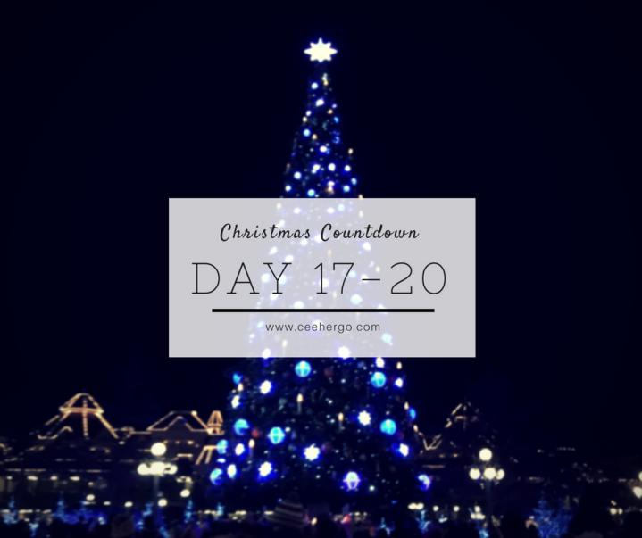 Christmas Countdown: Day17-20